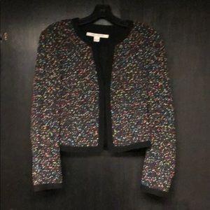 Diane Von Furstenberg Jackets & Coats - DVF confetti tweed jacket